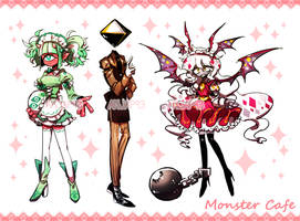 [closed] Adopt - Monster Cafe #1 by Titi-S2