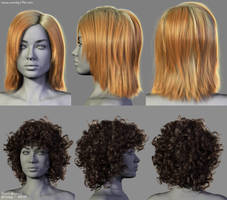 Hairstyles by Woodys3d