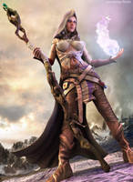 Sorceress by Woodys3d