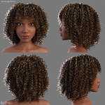 Naomi Head/Hair by Woodys3d