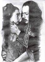 Vlad + Mina by leiaskywalker83