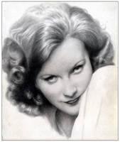 Greta Garbo Vintage by leiaskywalker83