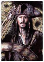 Jack Sparrow - Coloured by leiaskywalker83