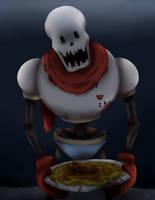 Horrortale!Papyrus. by NanamiCham