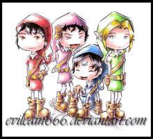 four sword by evilcain666
