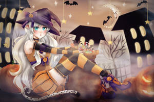 RU: Trick or Treat - Lea by Solceress