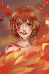 Fire blood by Solceress