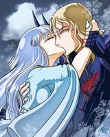 Last Wish Before I Die - Hilda and Siegfried by AranelFealoss