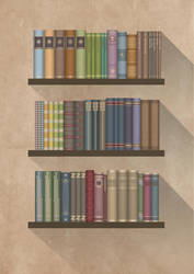 The books you borrowed_light by JCallius