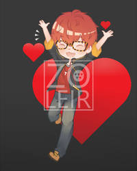 Commission Chibi 707 by Zoleir