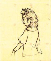 The little princess Sara Crewe by VitiS-Lololo