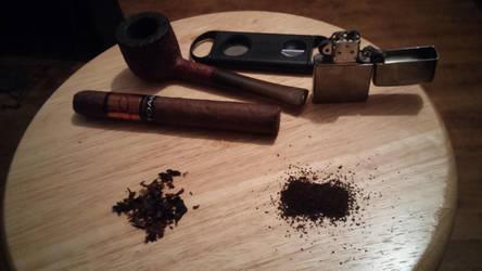 Cigar Still Life 2 by FirstKing37