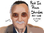 RIP Stan Lee by art-in-distress