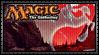 Magic - Red Mana Stamp by reggiewolfpro