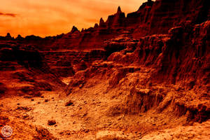 Martian Surface by photosynthetique