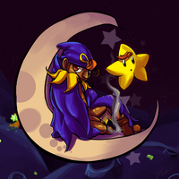Moon and Stars by Jazzy-Kandra