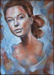 woman's portrait by danieleski