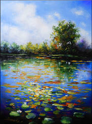 pond. by danieleski