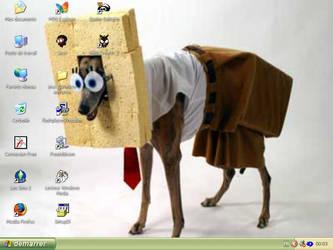 Sponge dog by Kaobang