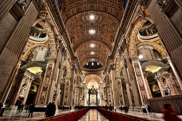 Vatican City Saint Peter's Basilica by AlexanderYap