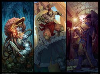 Set of heroes by Belibr