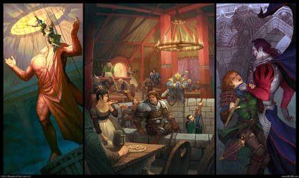 Halls of Undermountain by Belibr