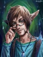 Tattoo Elf by Junica-Hots