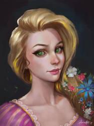 Rapunzel by Junica-Hots