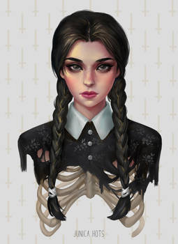 Wednesday Addams by Junica-Hots