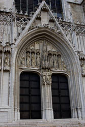 Belgian Church Door Stock by Sheiabah-Stock