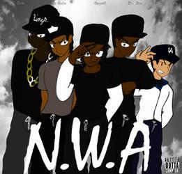 N.W.A- Straight Outta Compton by LunarSpawnSerenata