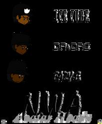 NWA Avatar Heads by LunarSpawnSerenata