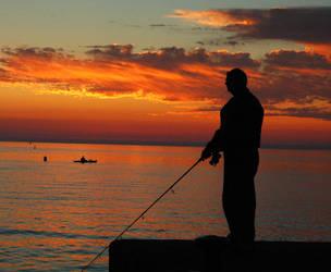 Fishing for Sunbeams by RichardMacDonald