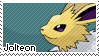 Jolteon stamp by S-Laughtur