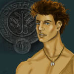 The Color of Finnick's Eyes by BalDuMoulin81