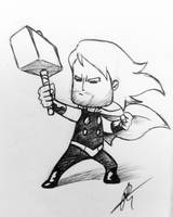 Tiny Thor by hydriss28