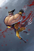 Wolverine by hydriss28
