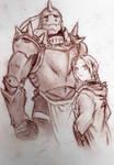 Full Metal Alchemist by mereme