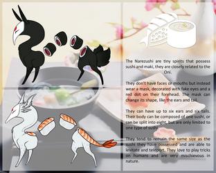 Narezushi species 4.0 .:open:. by Chubby-Kirin