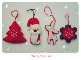 Christmas decorations by HimeraShape