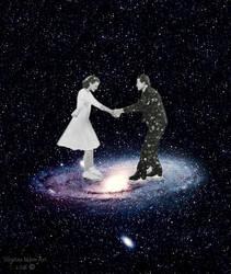 Skating in Andromeda by SilvianeMoon