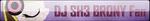 Fan Button: DJ SH3 BRONY Fan by SilverRomance