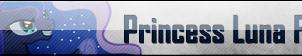 Fan Button: Princess Luna Fan by SilverRomance