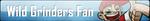 Fan Button: Wild Grinders Fan by SilverRomance
