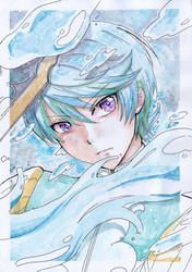 [ Watercolor ] Mikleo by matsuyukixirion