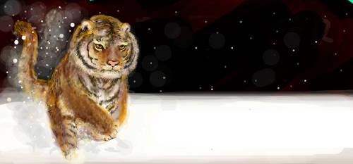 Siberian Tiger by jaguanna