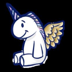 Happy Little Unicorn by Sereida-Arts