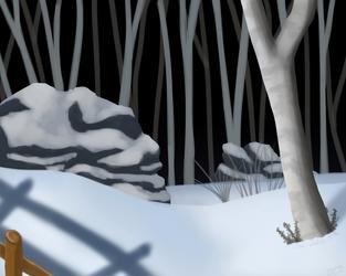 It snowed by Sereida-Arts
