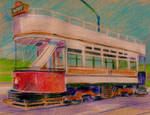 Old Fashioned Tram by 80sdisco