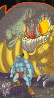 Big bad basilisk by PepperoniDeluxe